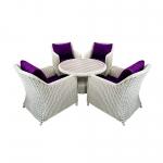 Комплект мебели Yuhang 5 предметов (Yh-c1626w-1/yh-s4626p)