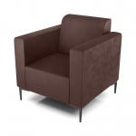 Кресло AS Тиффани 79x78x73 см коричневый
